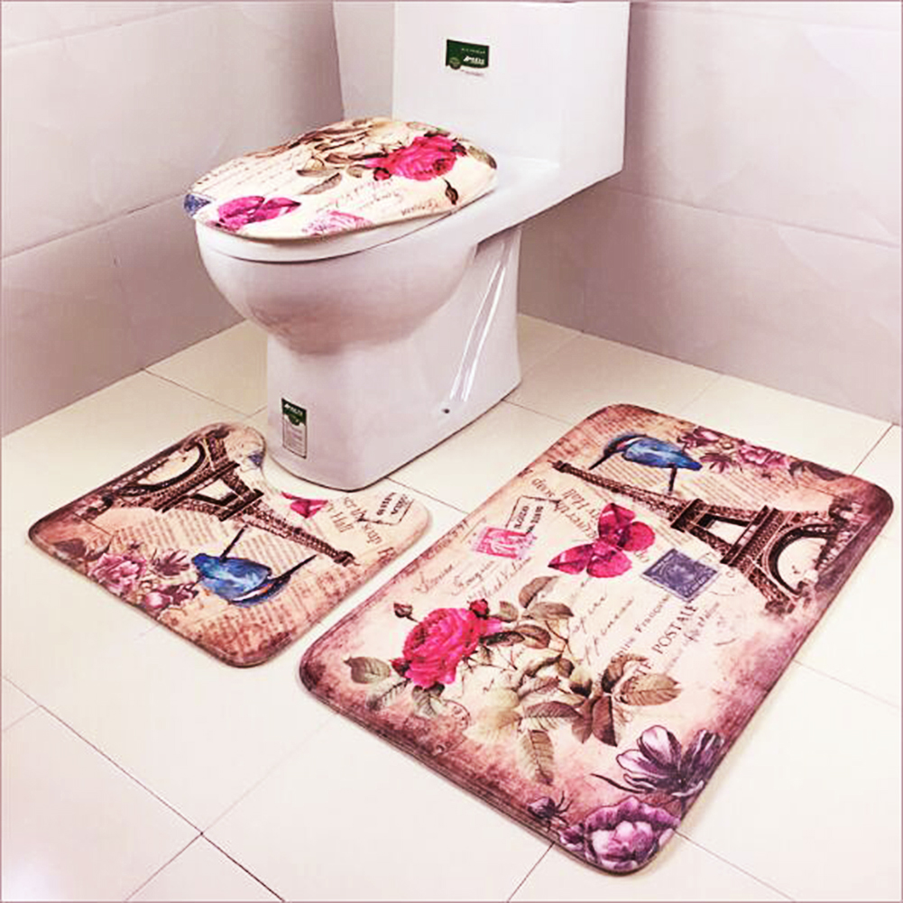 popular toilet rug set-buy cheap toilet rug set lots from china