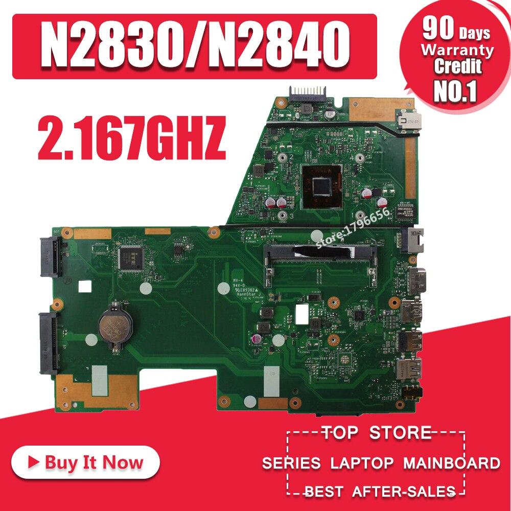 X551MA Motherboard N2830/N2840 For ASUS X551M F551MA R512MA D550MA Laptop Motherboard X551MA Mainboard X551MA Motherboard 100%ok