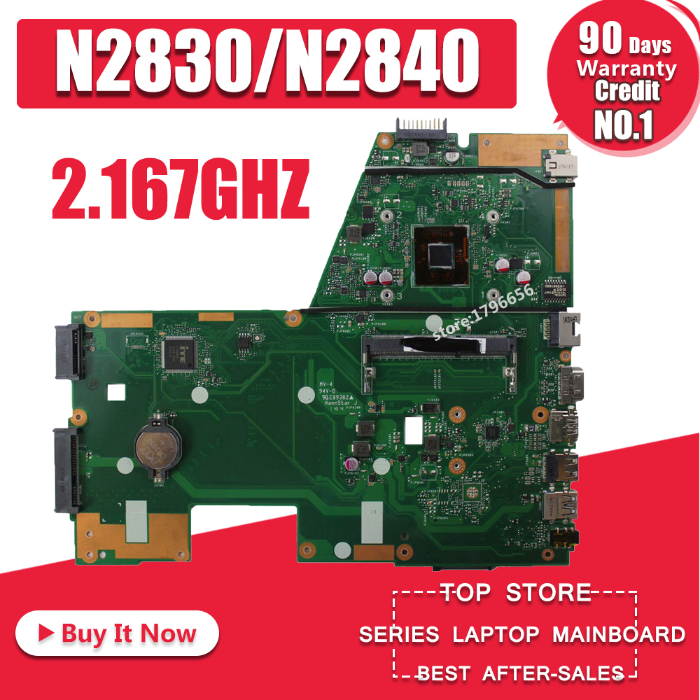 X551ma placa-mãe n2830/n2840 para asus x551m f551ma r512ma d550ma computador portátil placa-mãe x551ma mainboard x551ma 100% ok