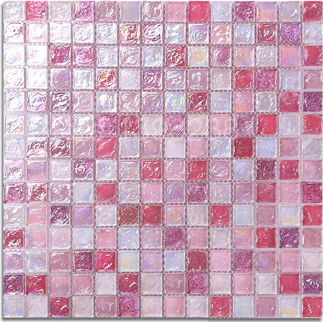 Popular lovely pink puzzle mosaic wallpaper Crystal glass sticker kitchen backsplash bathroom border home decor art tiles,LSLL01