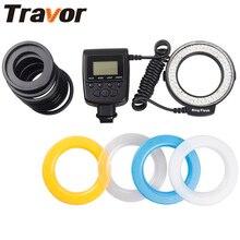 Светодиодный макро-вспышка Travor 48 шт. RF-550E для sony Old Minolta hot shoe для камеры sony A500 A200 A850 A77 A65