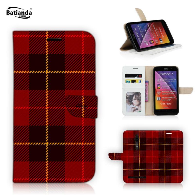 PU Leather Phone Bag Case For ASUS Zenfone 2 ZE550ML ZE551ML 5 5 Wallet Flip Case