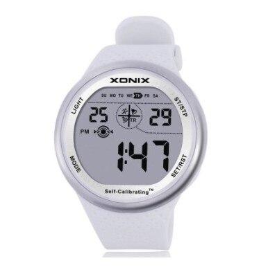 XONIX Self Calibrating Internet Timing Men Sports Watches Waterproof 100m Digital Watch Swimming Running Wristwatch Montre