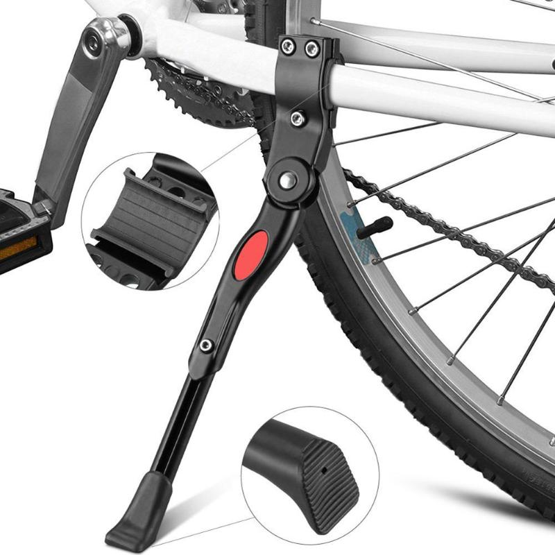 Adjustable MTB Road Stand Foot Brace Bicycle Kickstand Parking Rack Mountain Bike Support Side Kick Cycling Parts For 26/27.5/29