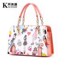 100% Genuine leather Women handbags 2019 shoulder bag female bag new fashionista summer fashion handbag a beautiful figure