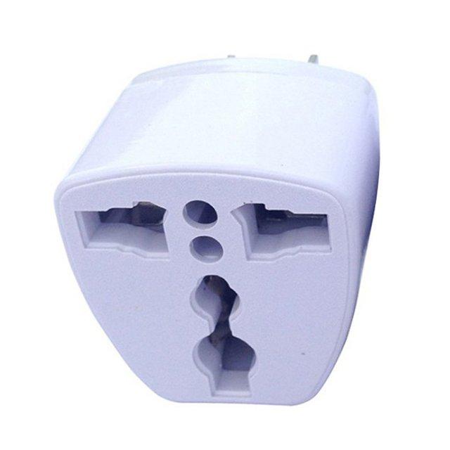 Three-Legged Power Conversion Plug Connector Adapter Power Plug One Round Two Flat Power Plug 2