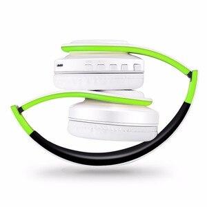 Image 4 - Nuovo auricolare stereo bluetooth auricolare cuffia wireless mani libere bluetooth universale per tutto il telefono per il iphone con il microfono