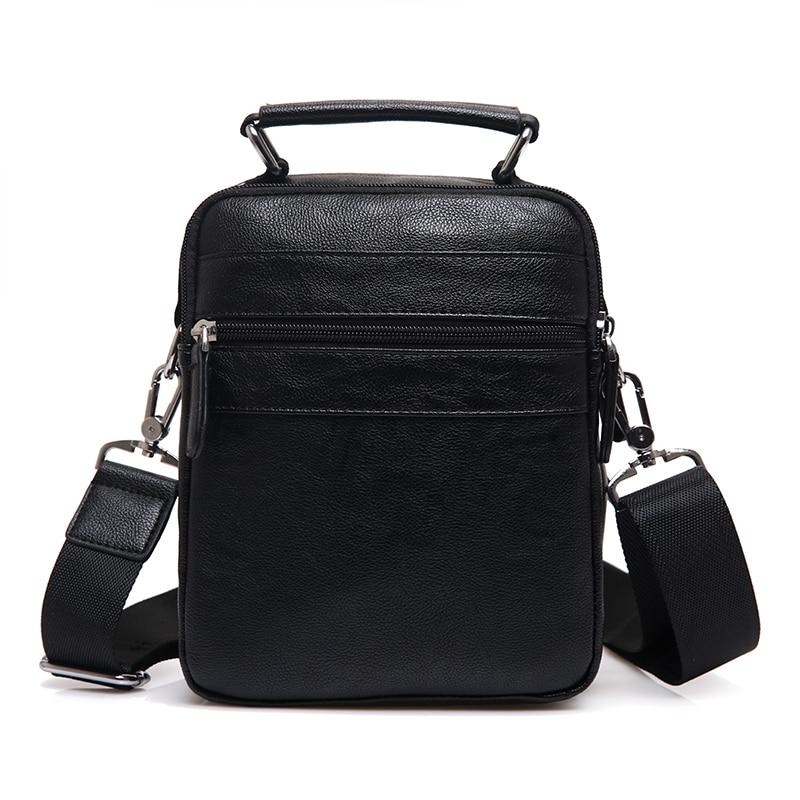 Novi brand Koža Muškarci torbe na rame Moda Hot Muška torbu Mali - Torbe - Foto 4