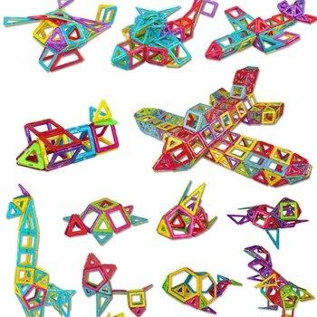 1 PCS standard size Magnetic Building Blocks 24 different types Kids Educational Toys Plastic DIY Blocks toys 4