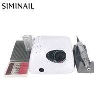35000 RPM Professional Electric Nail Drill Machine 65W strong 210 micromotor manicure pedicure set nail file electric drill kit