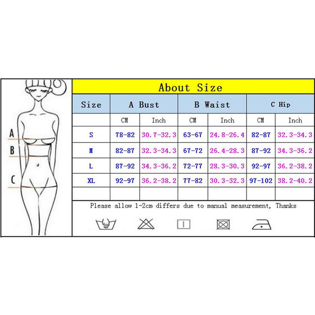 2018 Sexy One Piece Swimsuit Women Swimwear Female Solid Black Thong Backless Monokini Bathing Suit XL 5