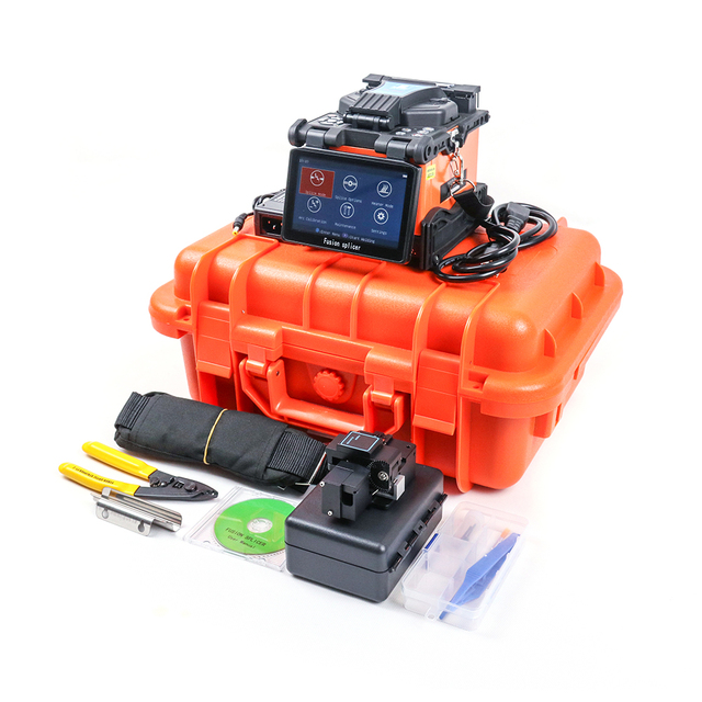 FTTH JiLong KL 360E Optical Fiber fusion splicer splicing machine with 9s splicing time 15s  heating time free shipping
