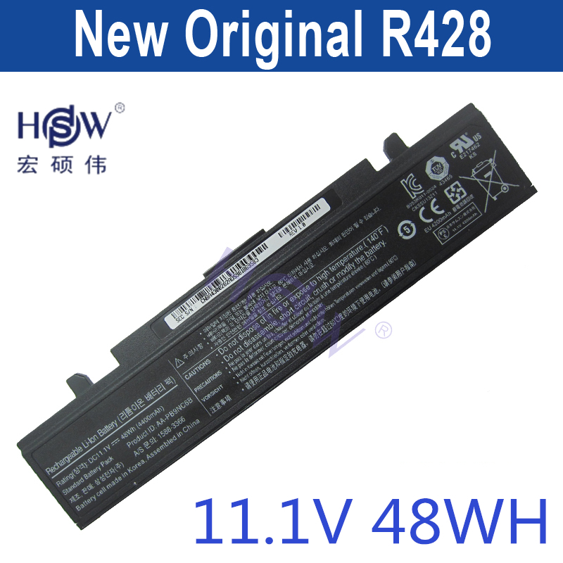 HSW laptop battery 48WH For Samsung NP-Q530 NT-Q530 NP-R540 NP-RF511 NP-SF410 NP-SF411 Q530 P210 RF500 RF511 RF512
