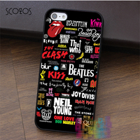 The Beatles Bob Marley G N R Michael Jackson Logo Fashion Cell Case For Iphone 4