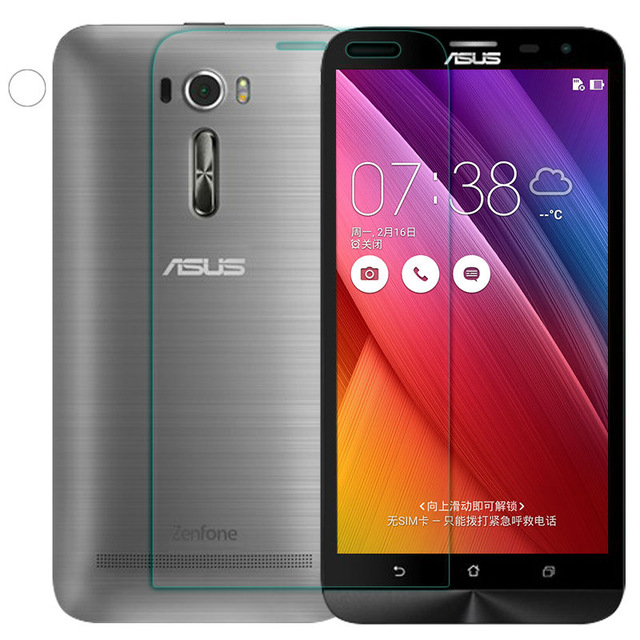 Wolfrule Speciality Store 2PCS Glass Asus Zenfone 2 Laser ZE601KL Screen Protector Tempered Glass For Asus Zenfone 2 Laser ZE601KL Glass Film WolfRule