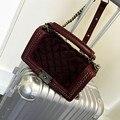 Brand Fashion Woman Crossbody Bag Ladies Chain Shoulder Bag  luxury PU Leather Handbag Plaid Women Bag Sac A Main bolsos