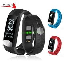 2017 New Smart Wristband Heart Rate Blood Pressure Monitor Bluetooth Band Pedometer Sports Bracelet Health Fitness Tracker Watch