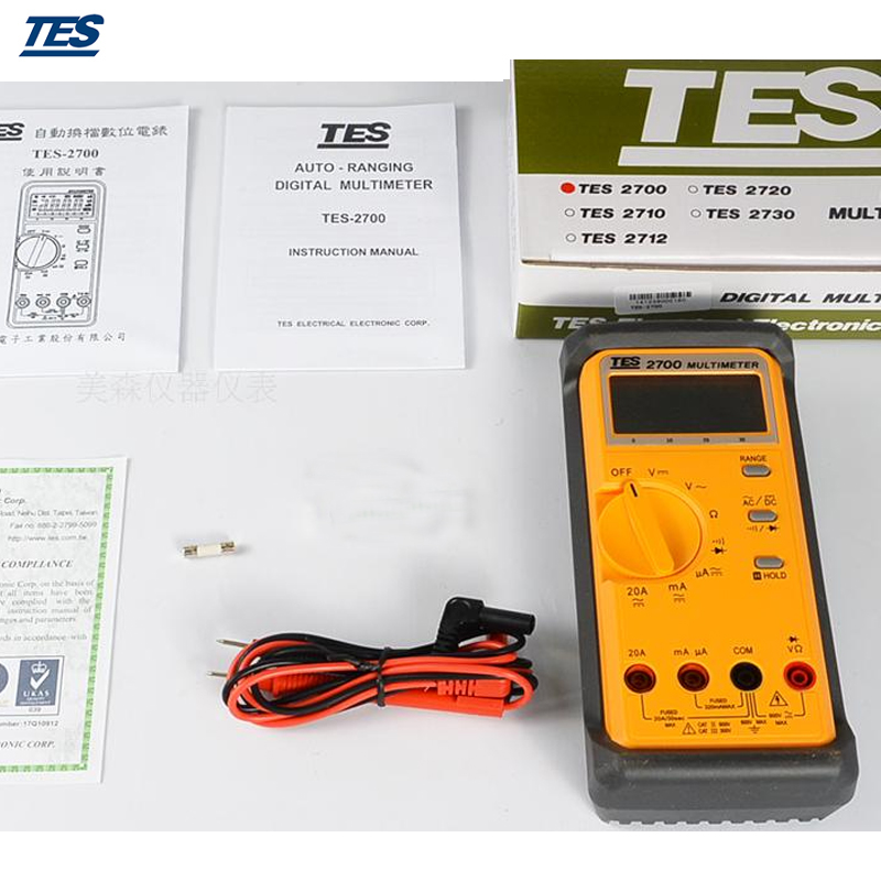 TES-2700 Digital LCR Multimeter mary tes w15102142288