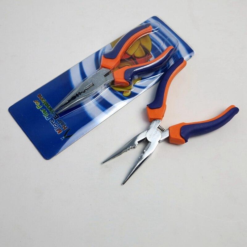Cheapest shipping!! rebond remover / hair extension plier / fusion rebonds remover  Orange&Blue bar 2pcs/lot