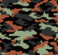 Jungle Large Camouflage Vinyl Car Wrap Film Roll Camo Wraps Bubble Free For JEEP SUV TRUCK