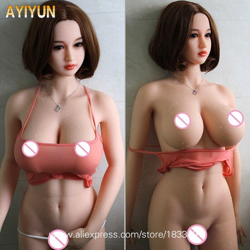 AYIYUN Poupée De Sexe pour Hommes Réaliste Silicone Masturbateur Vagin Chatte Adulte Japonais Sexy Jouets En Métal Squelette Sexy Poupée D'amour