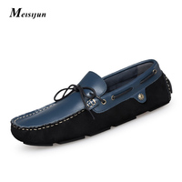 Men's shoes fashion shoes hand leather driving shoes