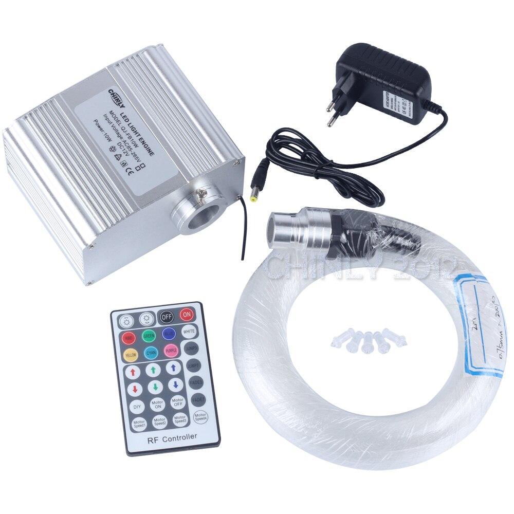 ᗑLED Fiber Optic Star Ceiling ︻ Lights Lights Kit 200pcs 0
