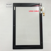 For Sony Xperia Tablet Z2 SGP511 SGP512 SGP521 SGP541 10 1 Long Cable Touch Screen Digitizer