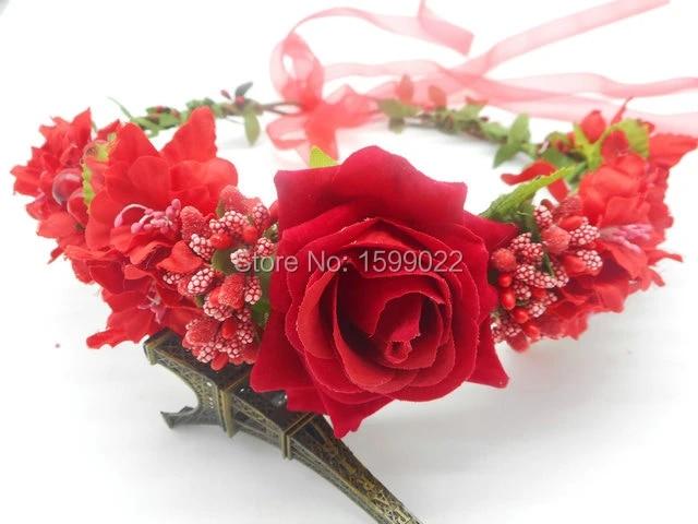 Flowered crown queen