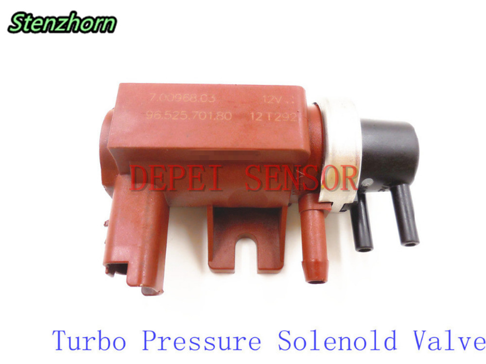 stenzhorn turbo pressure solenoid valve for citroen c3 c4 c5 peugeot 206 307 407 1 6 hdi oem 96. Black Bedroom Furniture Sets. Home Design Ideas