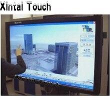 98 дюймов ИК сенсорный экран 2 точки инфракрасный сенсорный экран панель, ИК сенсорный экран Рамка наложения с usb-портом