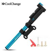 Coolchange Bike Accessories Ultralight Bike Pump 120Psi High Pressure Portable Mini Inflator Bicycle Pump