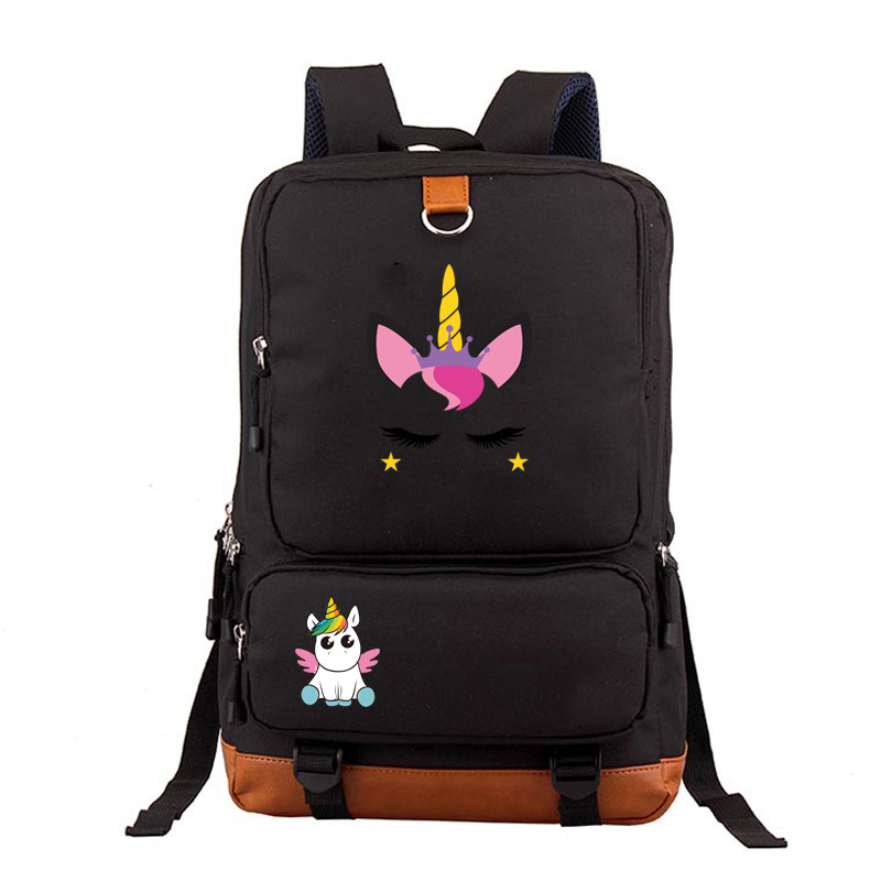 Unicorn Dabbing Deadpool Riding Backpack High Quality School Bag Casual Teenagers Student Book Travel Laptop Bags