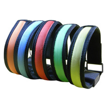 2016New Wristband Color LED Light Luminous Bracelets Nocturnal Band Running Security Arm Band Fluorescence Switch Control
