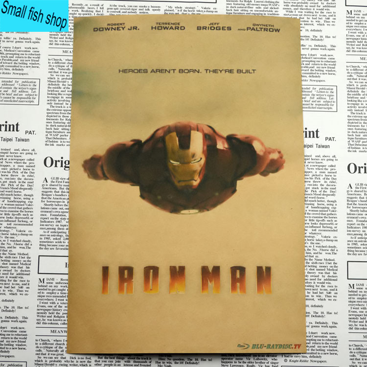 Iron Man1 2 3 Retro Movie Poster Үйге арналған жиһаз - Үйдің декоры - фото 5