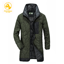 2017 Field Base brand mens clothing Winter Parkas casual men's jackets Parkas coats Military Jacket Warm Long jacket Coat Male