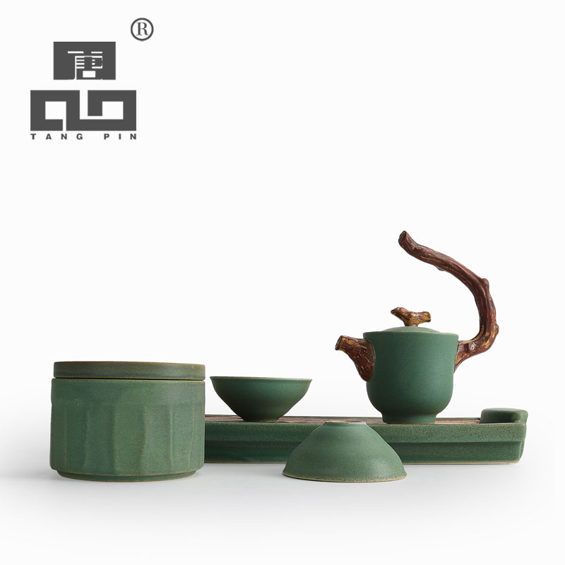 TANGPIN 2017 new arrival japanese teapot ceramic kettle tea cup chinese kung fu tea set with