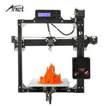 Анет A2 auto level и руководство уровень 3D принтер Алюминиева DIY 3D комплект принтера LCD2004 220*220*220 мм Три размеры принтеры