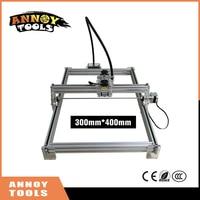 100mw 7000mw DIY Desktop Mini Laser Engraving Machine Marking Carving Machine 300 400 Working Face Advanced