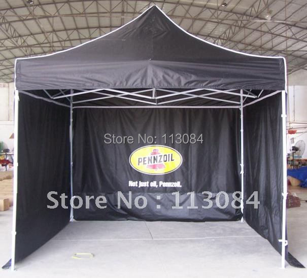 Alta calidad libre 2 m x 2 m marco de acero plegable tienda/gazebo ...