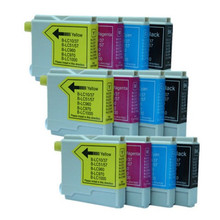 12PK Ink Cartridges LC960 LC970 LC1000 Compatible for Brother DCP DCP-130C DCP-135C DCP-150C DCP-153C DCP-157C Printers inks