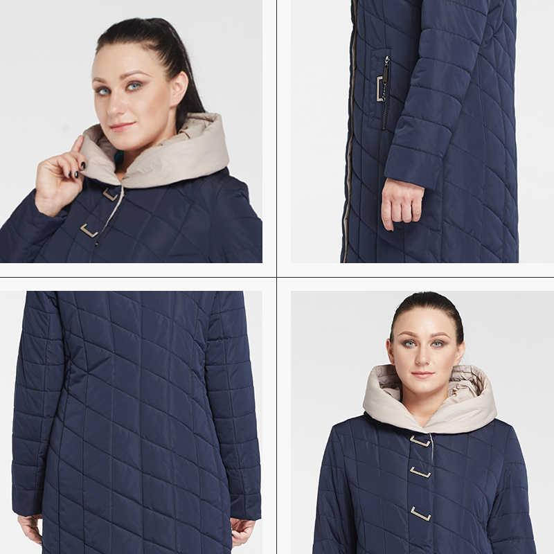 Nieuwe Winter Vrouwen Jas Jas Katoen Grote Maat Jas Slanke Effen Kleur Warm Hooded Zipper Winter Dame Jas Am-2674