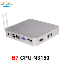 Partaker partaker b7 fanless industrial desktop computer mini pcs n3150 intel quad core .jpg 250x250