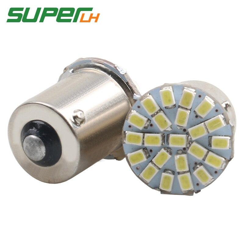 LED 2W 12V White Omni Bulb BAY15D 1157 Brake Tail 18 5050 Light Bulb 1016 1034