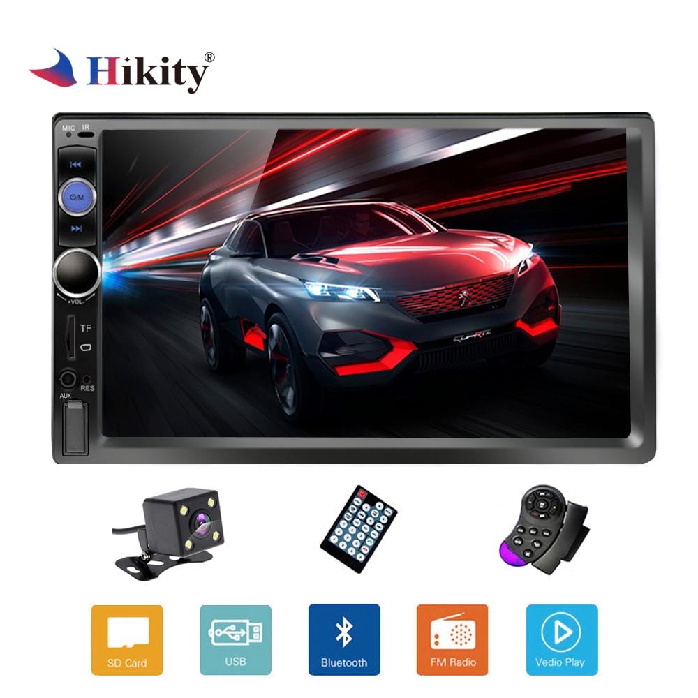 Hikity 2 Din Autoradio Bluetooth Autoradio multimédia MP5 lecteur Autoradio 7