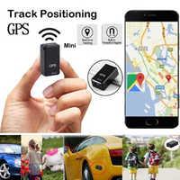 Mini rastreador de gps do carro localizador de gps rastreador de carro rastreador de gps anti-perdido gravação de rastreamento de dispositivo de controle de voz pode gravar