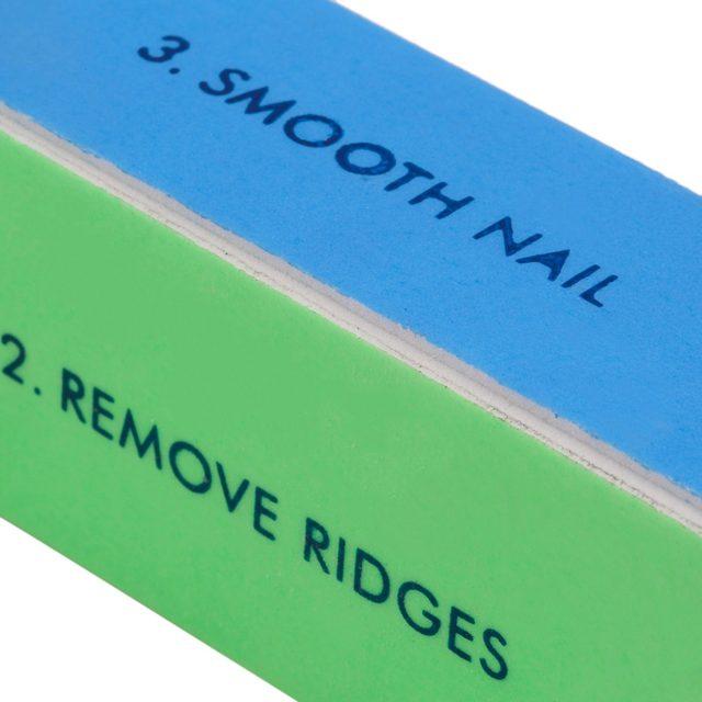 New Buffer Buffing Sanding Files Women Girls Acrylic Pedicure Manicure Polish Nail Block 4 Way File Salon