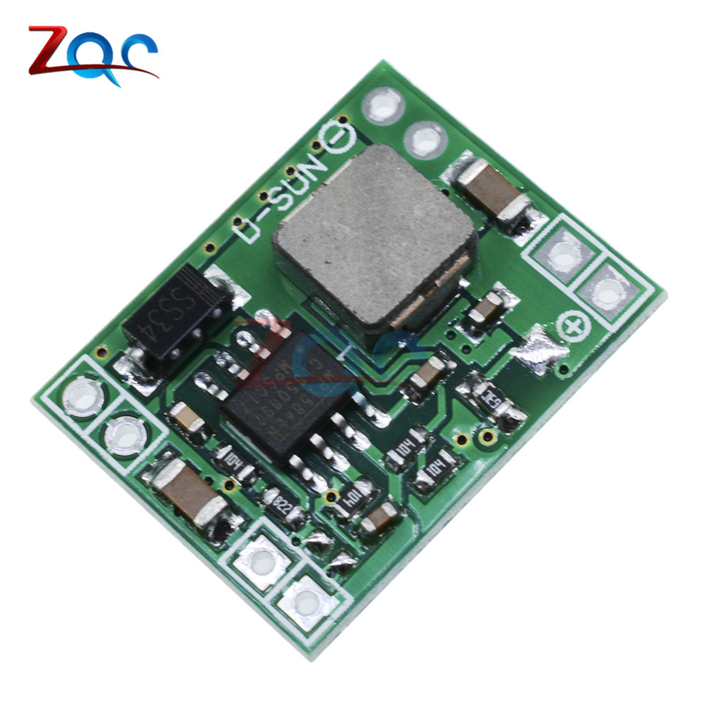 2pcs 5V 3A Mini Step Down Power Supply Module DC-DC Buck Converter Input 7V~28V Output 5V 10pcs lot mp1584en mp1584 3a 1 5mhz 28v step down converter