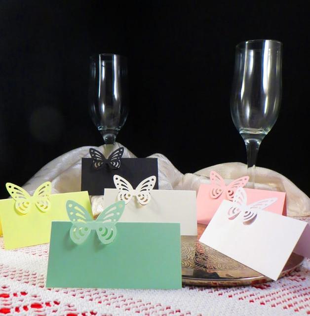 Aliexpress.com : Buy 50x Butterfly Wedding Birthday Dinner Table ...