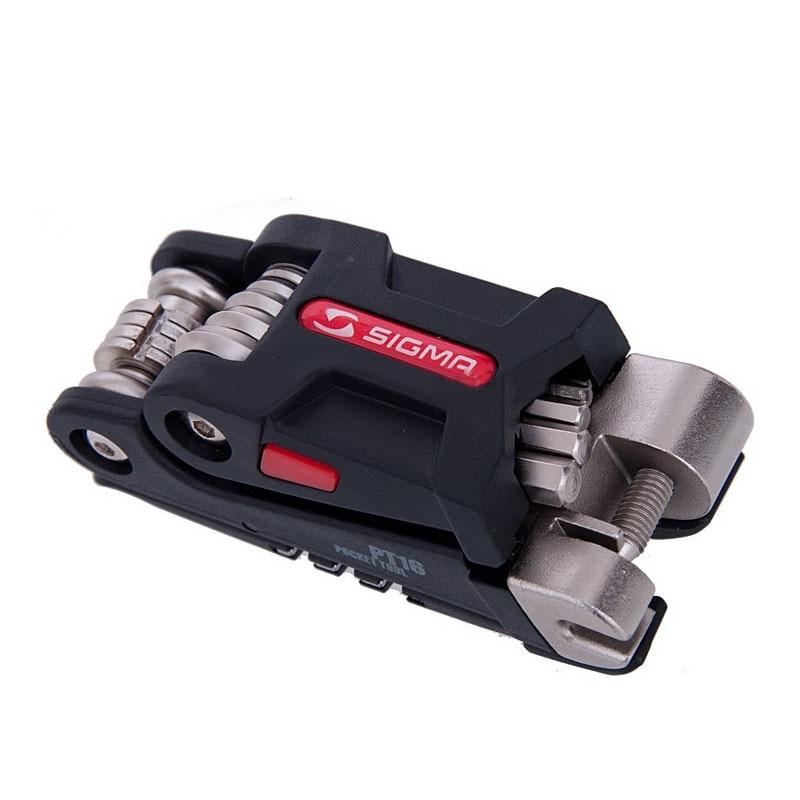 Wielofunkcyjny zestaw narzędzi do naprawy Pocket Bike PT16 Mini przenośny zestaw narzędzi rowerowych Sześciokątne klucze Klucz górski śrubokręt narzędzia